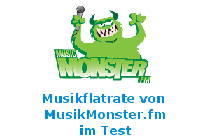 MusicMonster Musikflatrate im Test