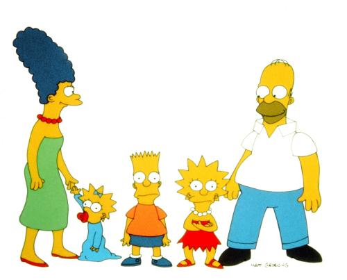 simpsons familie