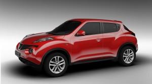 Kleinwagen SUV Nissan Juke Seitenansicht